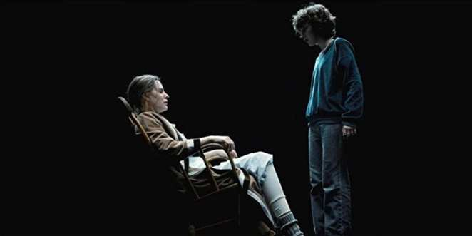 Eleven meets her mother, Terry Ives, in the Void.
