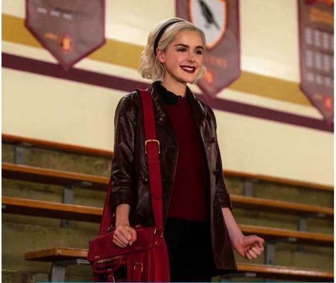 Sabrina casts spell in CAOS.