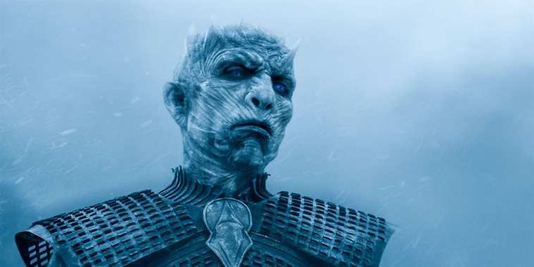 The Night King in Game of Thrones