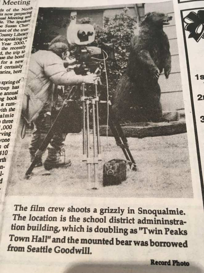 Snoqualmie Valley News article