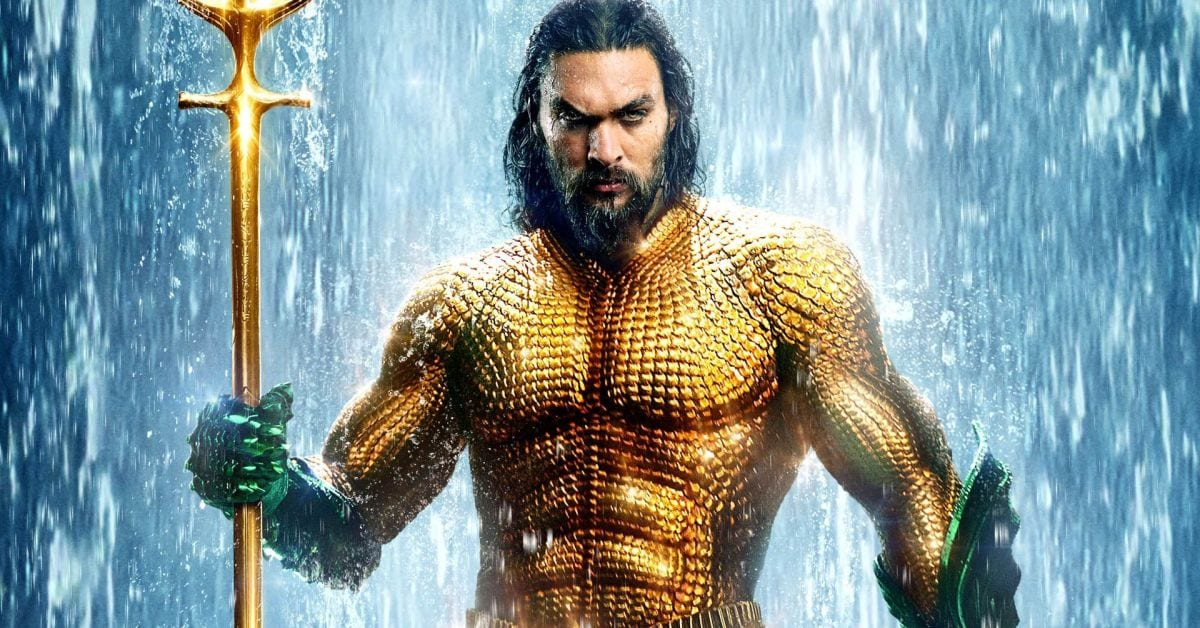 Jason Mamoa as Aquaman