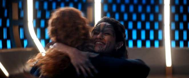 "Tilly (Mary Wiseman) and Po re-meet in Star Trek: Discovery Season 2 episode 13 - ""Such Sweet Sorrow"""