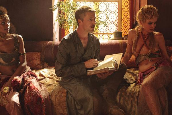 Littlefinger holds forth in his brothel