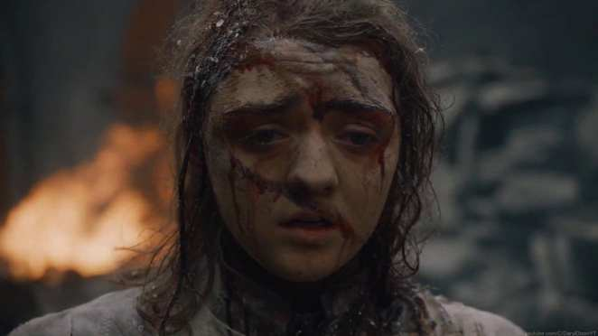 "Arya is torn apart by Daenerys's anger in Game of Thrones ""The Bells"""