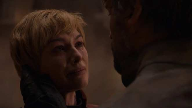 "Cersei and Jaime Lannister's final moments in Game of Thrones ""The Bells"""