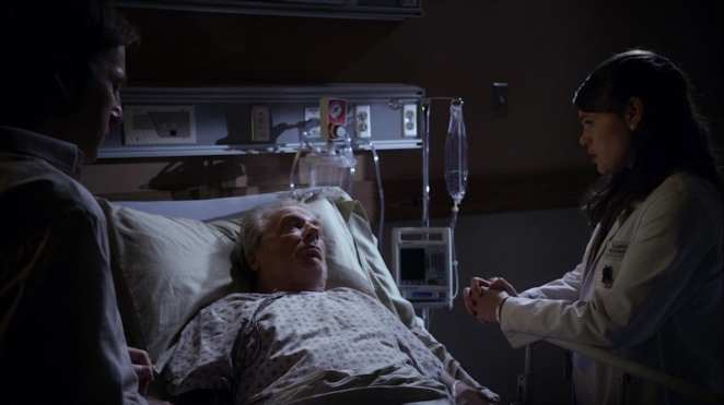 "Chuck McGill in the hospital in Better Call Saul ""Alpine Shepherd Boy"""