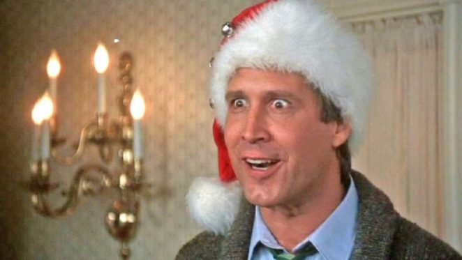 Clark W. Griswold losing it in National Lampoon's Christmas Vacation