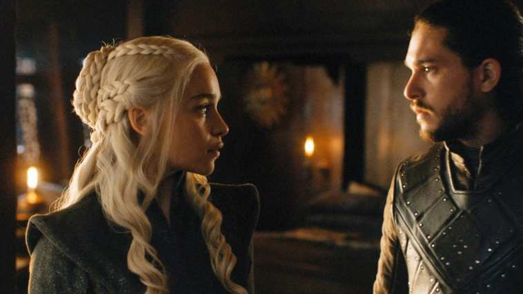 Daenerys and Jon face off in Game of Thrones