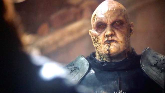 The Mountain basically becomes a zombie on Game of Thrones