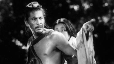 Toshiro Mifune in the Akira Kurosawa classic Rashomon