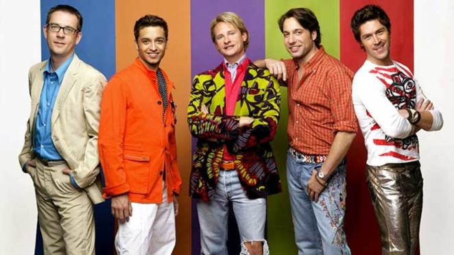 The 'Fab 5' in the original run of Queer Eye for the Straight Guy