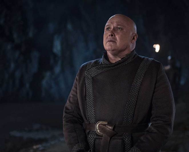 """Varys faces a fiery death in Game of Thrones """"The Bells"""""""