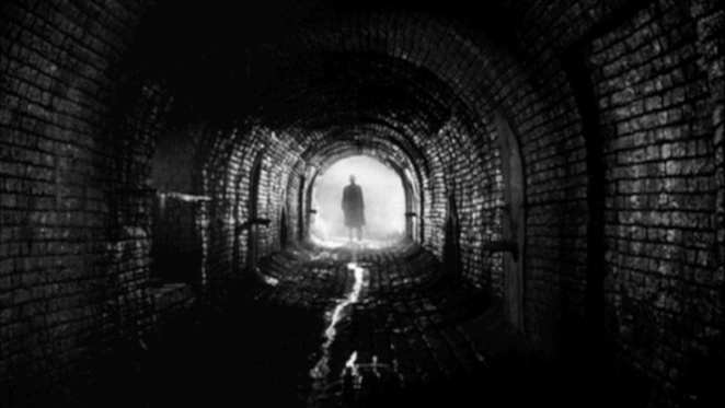 Underground Vienna provides danger and intrigue in Carol Reed's The Third Man