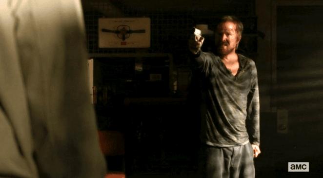 Aaron Paul in Breaking Bad finale