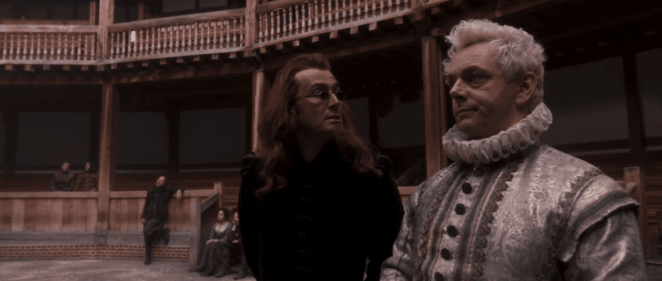 """A little celestial intervention from Crowley and Aziraphale made sure Hamlet was a success in Good Omens' """"Hard Times"""""""
