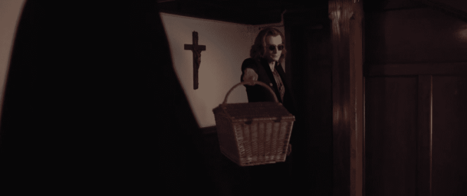 Crowley's special delivery doesn't go as planned.