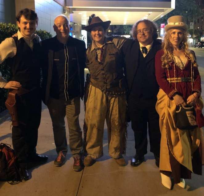 Matt Zoller Seitz, and some Deadwood cosplayers