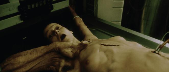 Ripley's clone in Alien Resurrection begs for death