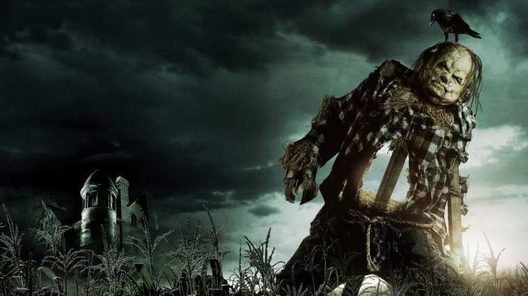 Scary Stories scarecrow