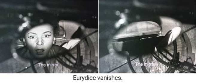 Eurydice vanishes in Orpheus