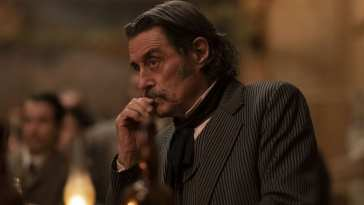Ian McShane as Al in Deadwood