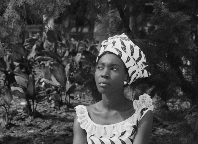 A young woman in 1960s Dakar, Senegal