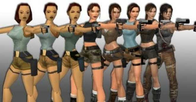 lara croft clothing timeline