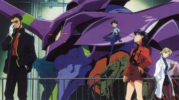 Another day at the office for Nerv in Neon Genesis Evangelion.