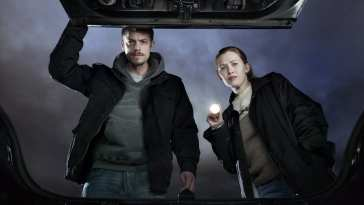 Linden and Holder from AMC's The Killing