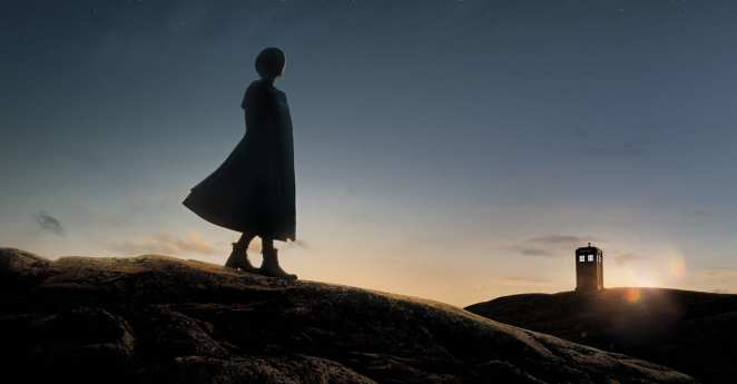 The Doctor (Jodie Whittaker) in a promotional image for Series 11