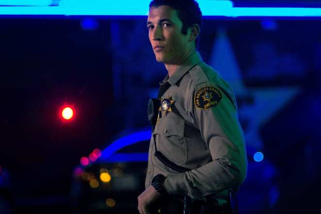 Miles Tells is cop turned vigilante killer Martin Jones in Too Old to Die Young.