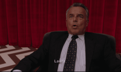 Leland Palmer tells Cooper to find Laura in Twin Peaks