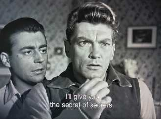 """Orpheus is offered the """"secret of secrets"""""""