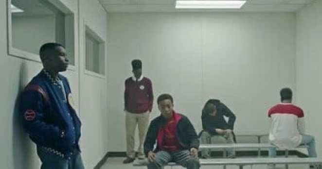 The Central Park Five in custody in Netflix's When They See Us