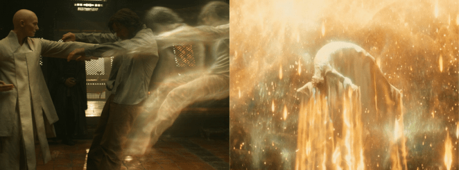 Astral Projections of Dr Strange (Left) and The Fountain (Right)