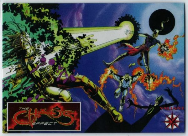 The Chaos Effect was Valiant Comics' 2nd corssover, and with the image of Master Darque blasting Magnus Robot Fighter, the stakes seem high.