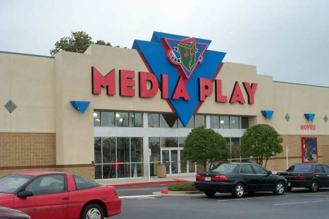 A picture of the now-defunct MediaPlay