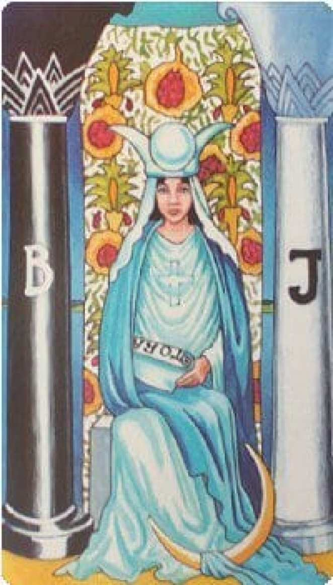 The High Priestess of Death, represented by Yaritza, is the main heroine hiding in the shadows of Too Old To Die Young.