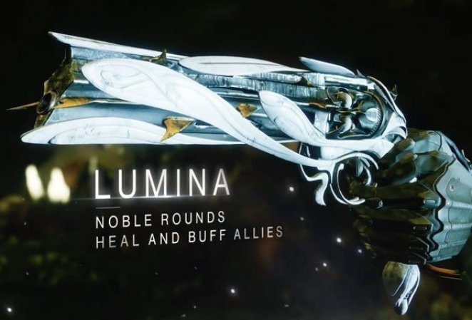 Lumina Quest exotic weapon