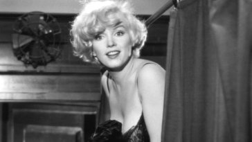 Marilyn as Sugar in Some Like It Hot