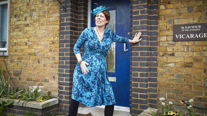 Olivia Colman as Alex Smallbone in the BBC sitcom Rev