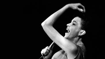 Judy Garland performing in Copenhagen, Denmark 1969