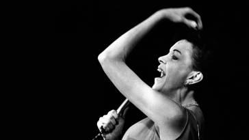 Judy Garland performing in Copenhagen, Denmark 1969