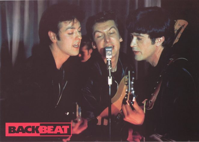 Paul. John, and George in Backbeat