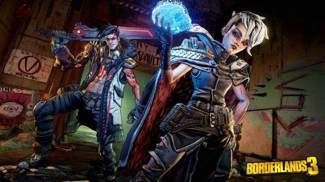 The Calypso Twins from Borderlands 3
