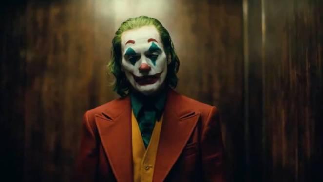 Mid shot of the new Joker