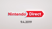 September 4, 2019 Direct Title Screen