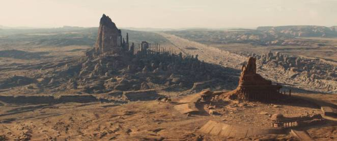 "The filming locations of the Utah desert doubled as Mars in ""John Carter"""
