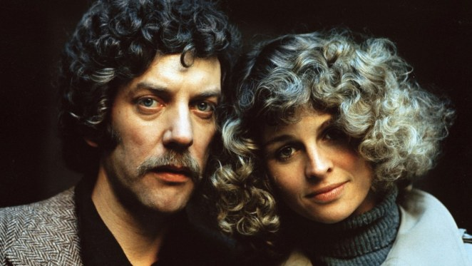 Donald Sutherland as John Baxter and Julie Christie as Laura Baxter in Don't Look Now still