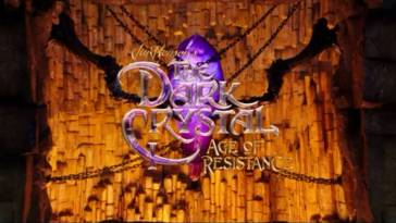 Title Card to Jim Henson's THe Dark Crystal: Age of Resistance